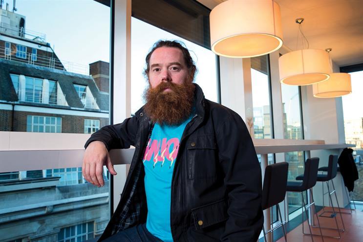 Sean Chambers: joins Jam as executive creative director