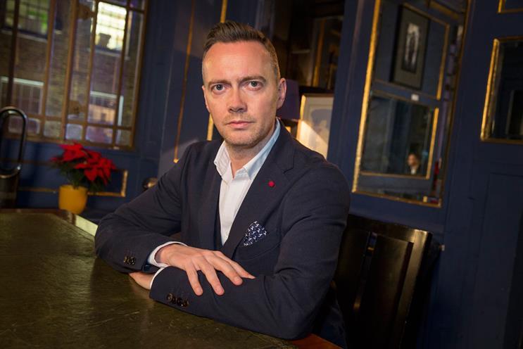 Jon Sharpe: describes new role as a 'turnaround job' after an 'annus horriblis' for RKCR/Y&R