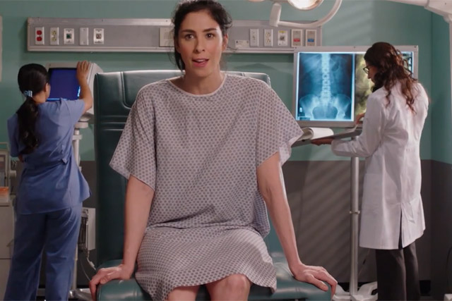 Sarah Silverman: appears in video by Droga5 for The Equal Payback Project