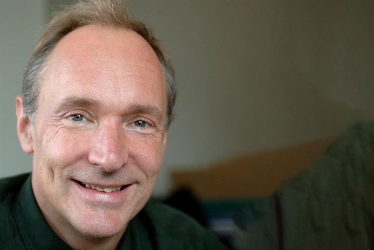Sir Tim Berners-Lee: brands must adopt open data principles to succeed