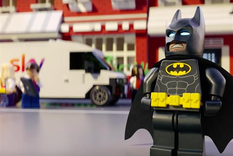 Lego Batman: long-standing brand partnership became a movie this year