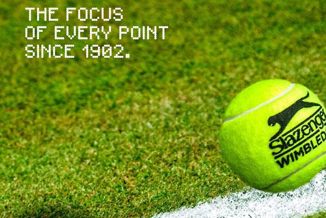 Slazenger: ad camapaign celebrates 112-year partnership with Wimbledon