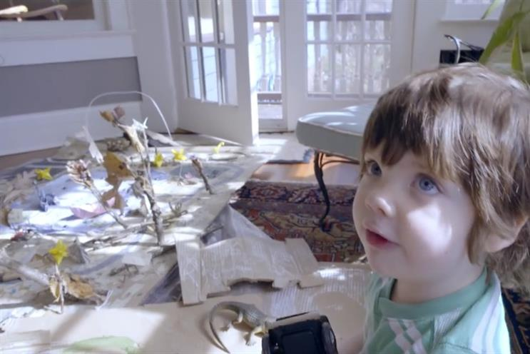 Smart ad: 'What the fuck?' says this little angel