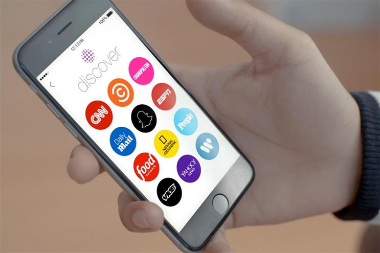 Snapchat opens talks with agencies ahead of UK push