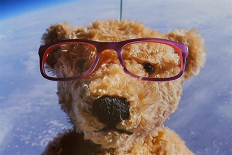 Specsavers: A recent ad for the brand sent a bespectacled teddy bear into space