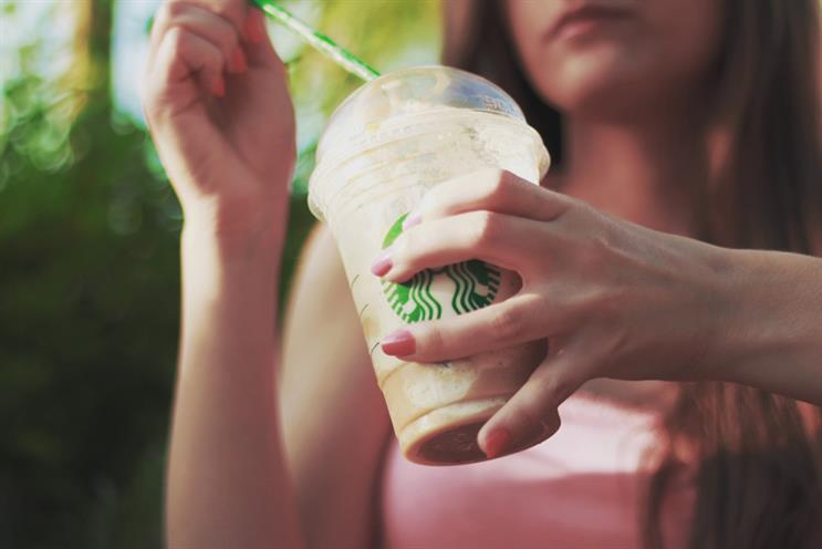 The lawsuit claims that Starbucks' chilled drinks are almost half full of ice