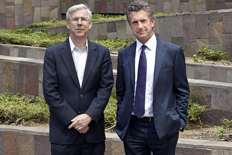 Stevenson (l) and Dunbar-Johnson: believe the appointment of a Europe-based editor will allow the newspaper to be more responsive