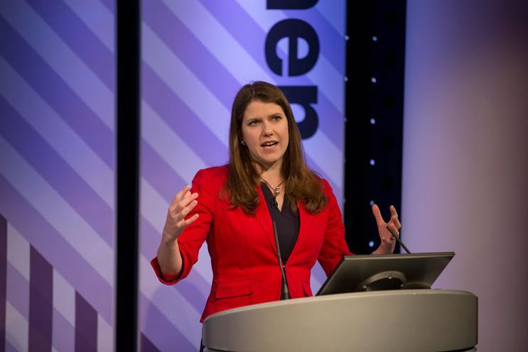 Swinson: spoke at the first day of Omniwomen UK