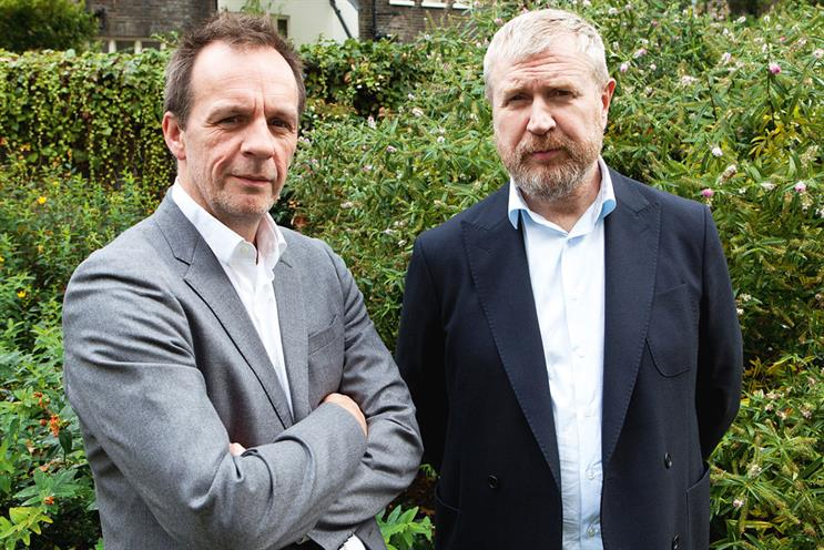 Doyle (l) and Campbell spent three years at TBWA\London