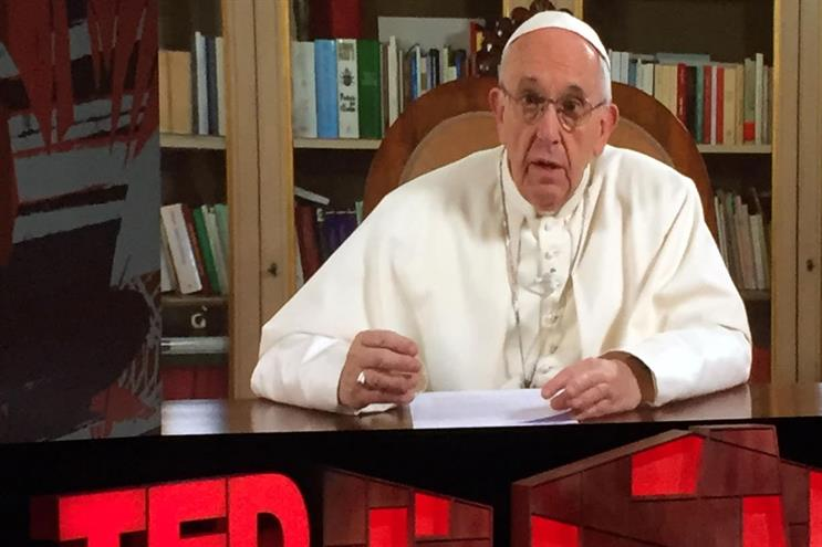 Pope Francis argued for empathy in modern life