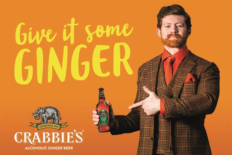 Crabbie's: the alcoholic ginger beer sponsors TFI Friday, hosted by Chris Evans