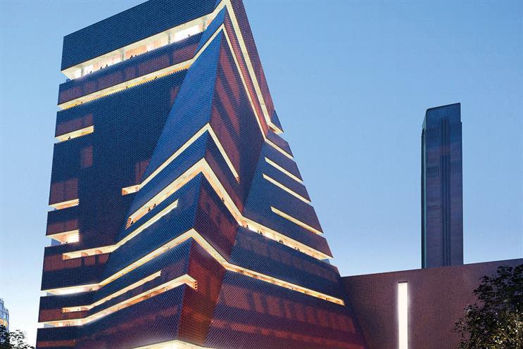 Tate Modern: opens next year