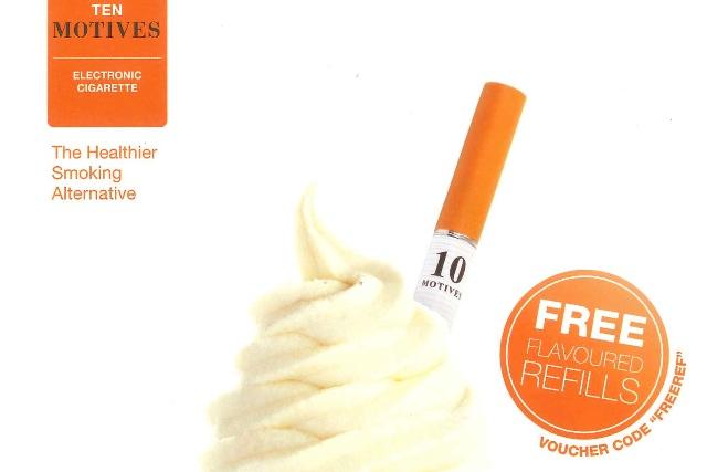 Ten Motives: ASA bans ad promoting flavoured e-cigarettes