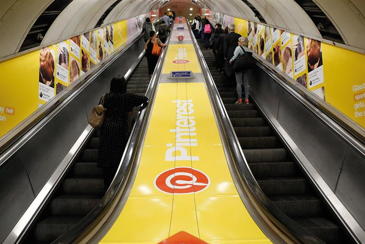 Out-of-home on the Underground: looking at using data to alter copy on digital screens in real time