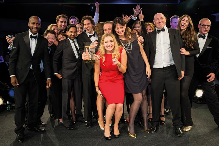 The7stars: named Agency of the Year at the Media Week Awards