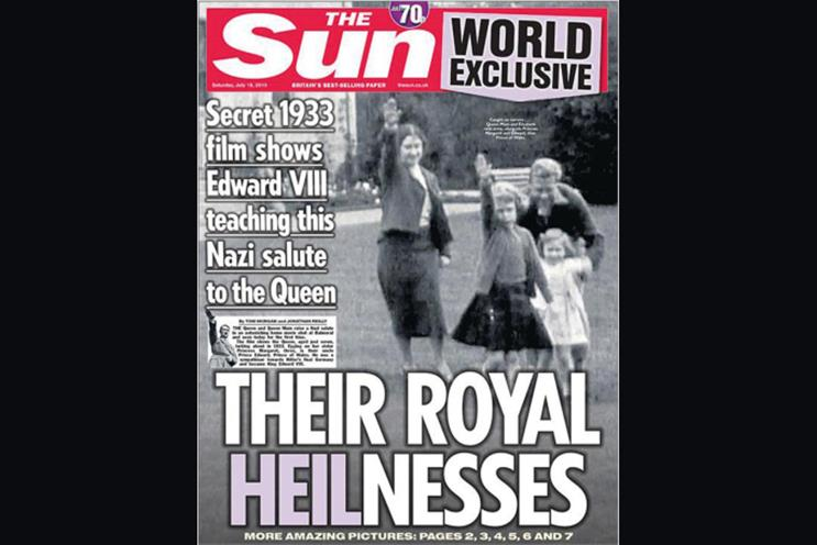 Things we like: The Sun's Nazi-salute scoop