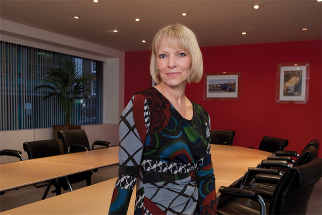 Leigh Thomas: the chief executive of Dare