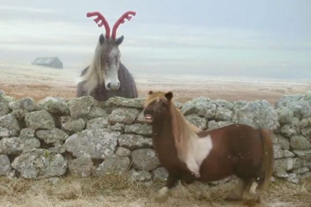 Three: the pony gets festive