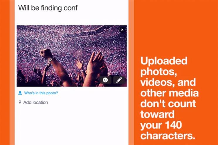 Twitter stops counting photos and quotes in 140-character limit