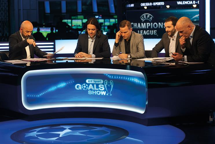 BT Sport: landed the TV rights in 2013