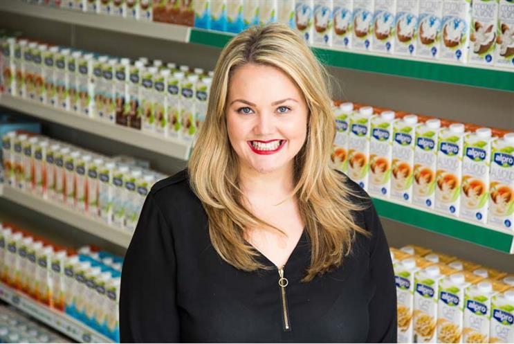 Vicky Upton, head of marketing at Alpro UK & Ireland