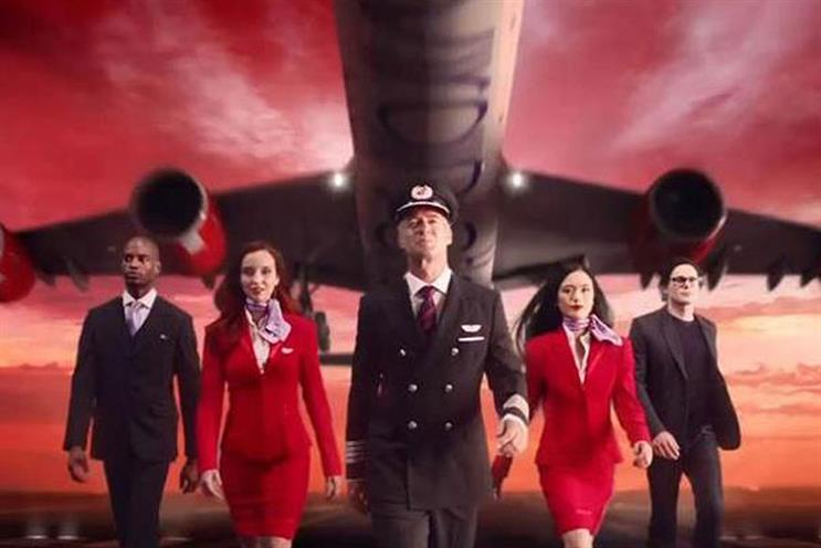 Virgin Atlantic: global ad pitch
