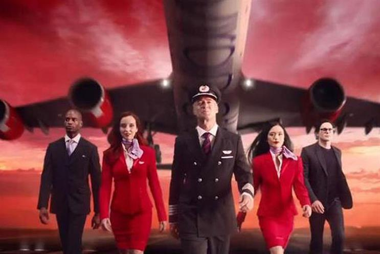 Virgin Atlantic: down to four agencies