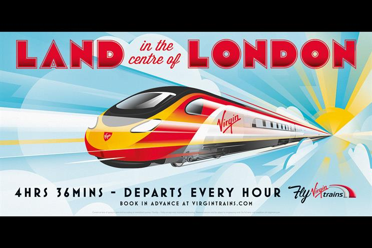 Virgin Trains: Manning Gottlieb OMD is the media incumbent