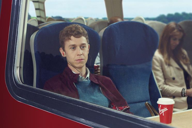 Virgin Trains: how the Anomaly and Grey teams probably looked after being told to revise their creative ideas over Christmas
