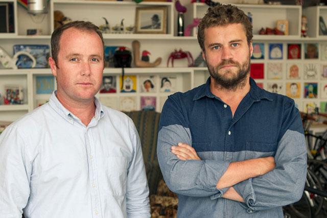 Paul Knott and Tim Vance: join Wieden & Kennedy