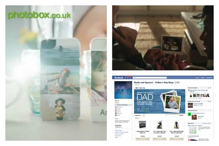Father's Day: PhotoBox, Dove and Marks and Spencer activity