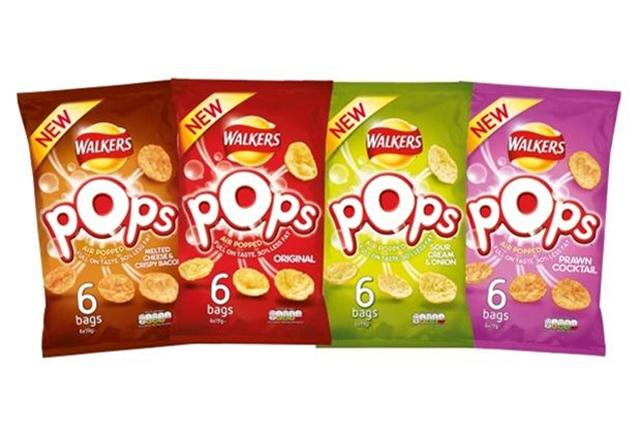 Walkers Pops: readies UK launch