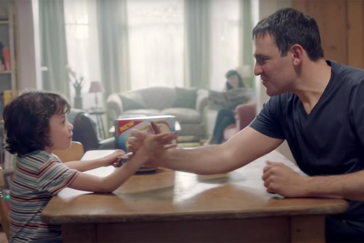 Weetabix: its latest ad features arm wrestling