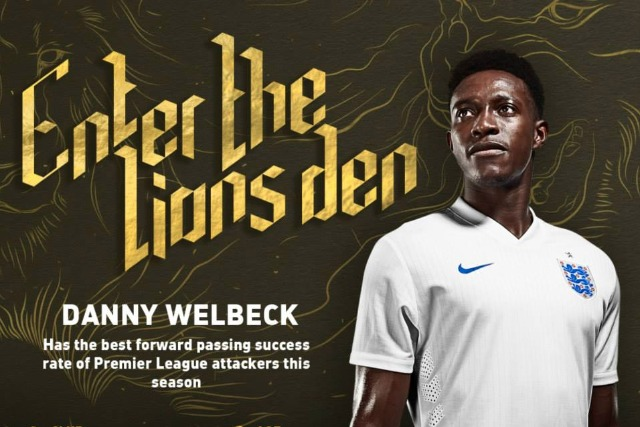 Danny Welbeck: joins the discussion on the Vauxhall England livestream
