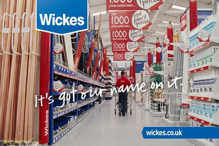 Wickes: aims to expand share of the DIY market