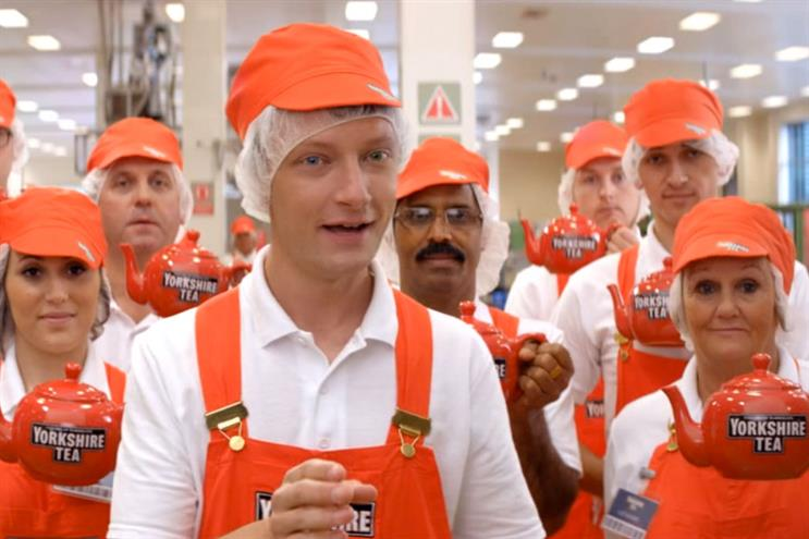 Yorkshire Tea: Lucky Generals oversees the ad account for parent Taylors of Harrogate