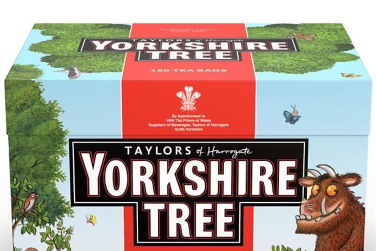 Yorkshire Tea: enlists The Gruffalo for tree campaign