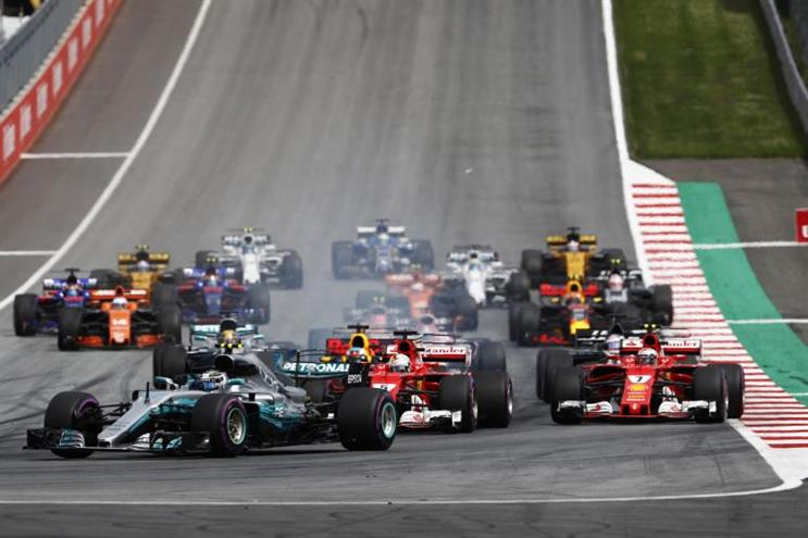 Snapchat adds Formula One to list of sports partnerships