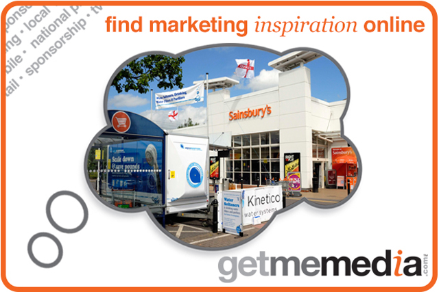 Engage Direct with Sainsbury's Customers via Experiential Events at Over 400 Stores Nationwide