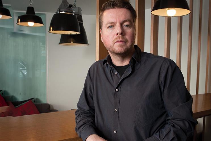 Simeon Adams, the creative partner at Goodstuff