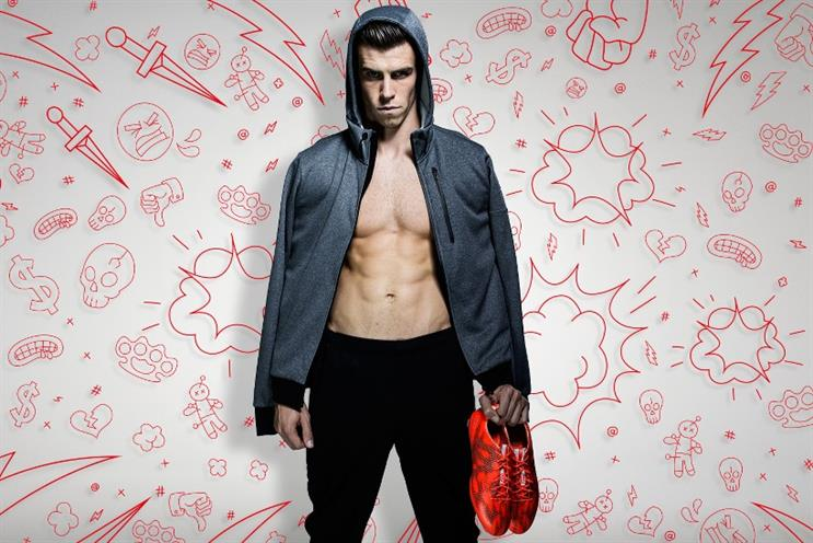 Adidas: Gareth Bale in 'There will be haters'