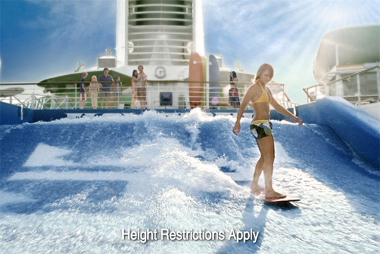 Royal Caribbean: previously used existing shops to handle digital