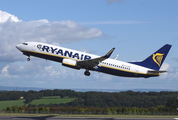 Ryanair's profits were up 43% in the latest financial year