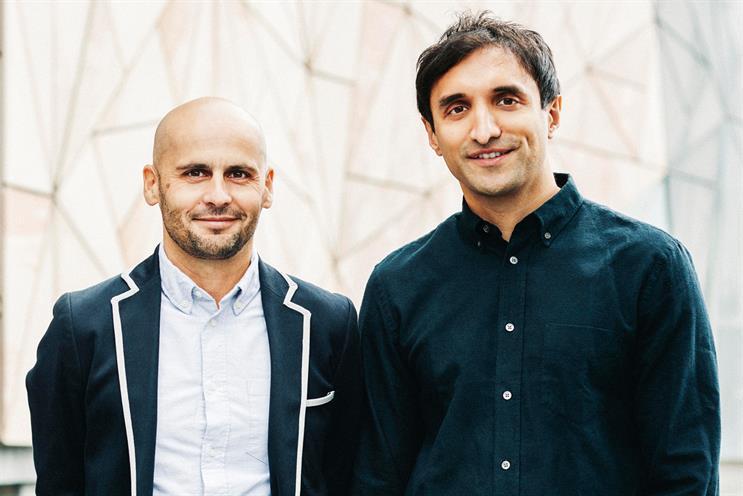 Brian Vella and Ajaz Ahmed of AKQA
