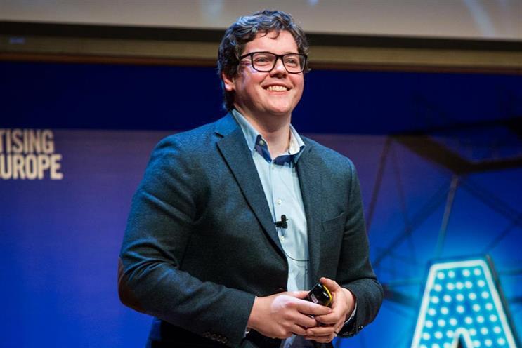 Alex Steer speaking at the AA Lead 2017 forum