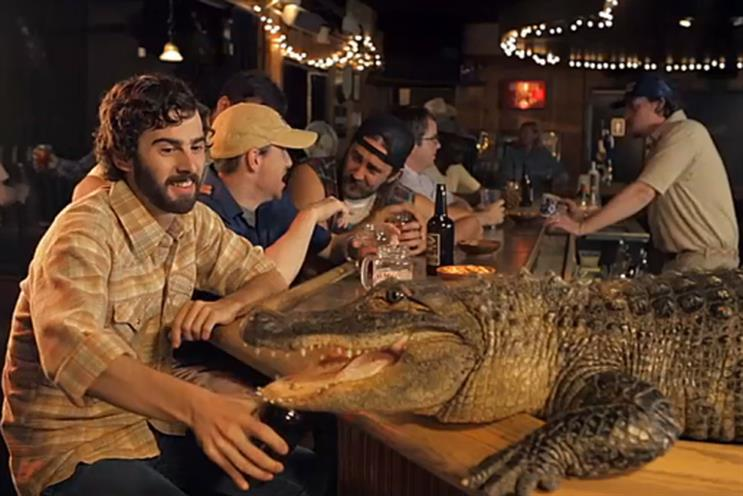 Johnny Fearless: alligator campaign for Jeremiah Weed