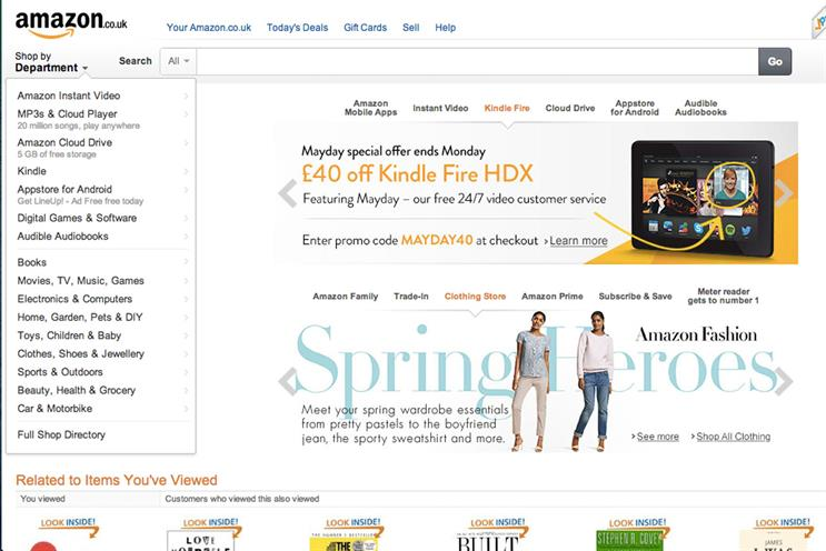 Amazon: most-identified brand for good data practises by surveyed consumers