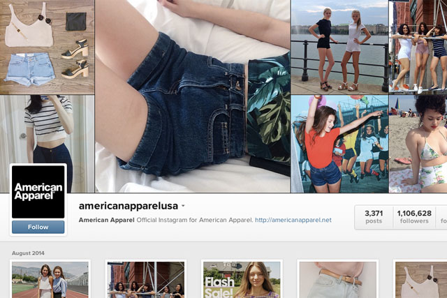 American Apparel accused of 'rampant sexism' with 'back to school' range