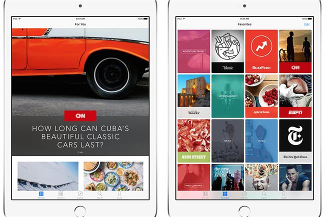 Telegraph named UK ad sales partner for Apple News