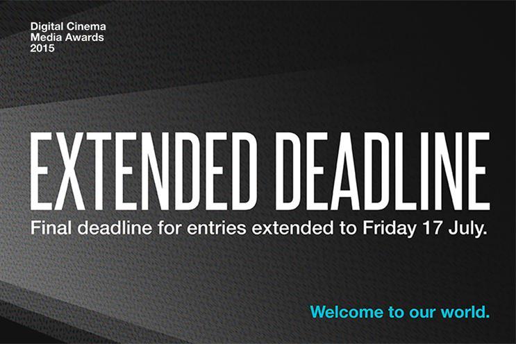 Digital Cinema Media Awards: open for entries
